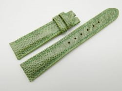 19mm/16mm Pear Green Genuine OSTRICH Skin Leather Watch Strap #WT1201