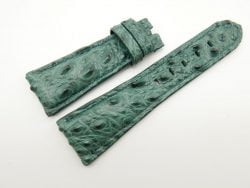 27mm/20mm Green Genuine Crocodile Skin Leather Watch Strap for PANERAI #WT1704