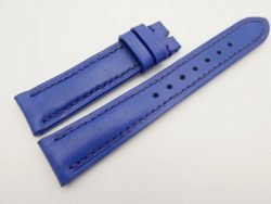 18mm/16mm Blue Genuine Vegtan CALF Skin Leather Watch Strap #WT3080