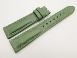 19mm/16mm Green Genuine Vegtan CALF Skin Leather Watch Strap #WT3102