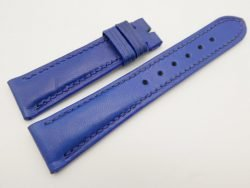 21mm/18mm Blue Genuine Vegtan CALF Skin Leather Watch Strap #WT3111