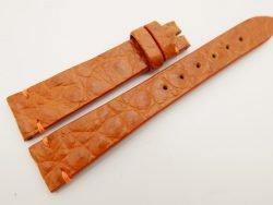 18mm/14mm Orange Genuine CROCODILE Skin Leather Watch Strap Band #WT3300