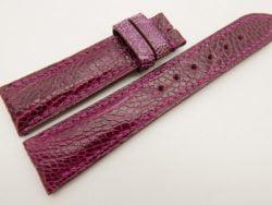20mm/18mm Pink Genuine OSTRICH Skin Leather Watch Strap #WT3370